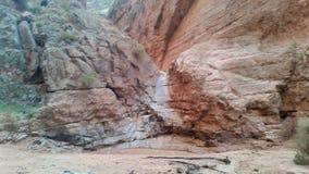torka falls Arkivfoton