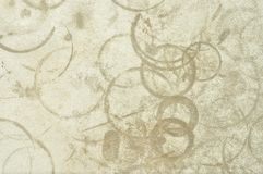 Torka fläcktextur från syrlig korrosion Royaltyfri Bild