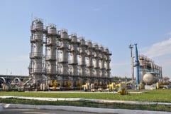 Torka gas, bransch, teknologi, gas, pump Royaltyfri Bild