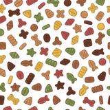 Torka modellen för älsklings- mat royaltyfri illustrationer