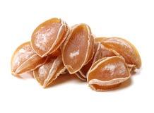 torkad abalone arkivbilder