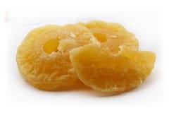 Torkad ananas - frukt Arkivbild
