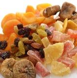 Torkad blandning för tropiska frukter Arkivfoton