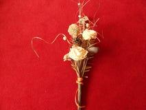 Torkad bukett av blomman Arkivfoto