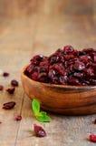torkad cranberry arkivfoto