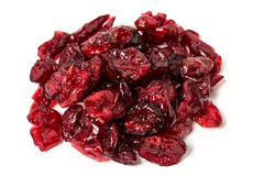 torkad cranberry Royaltyfri Fotografi