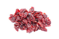 torkad cranberry - frukt royaltyfria foton
