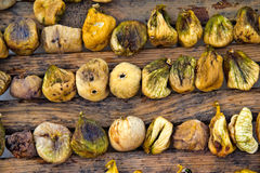 torkad figsförberedelse Royaltyfri Foto