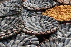 Torkad fish Arkivfoton
