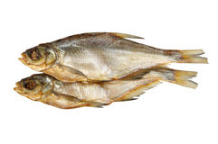 torkad fisk Arkivfoton