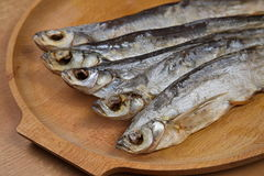 torkad fisk Sabrefish royaltyfri fotografi