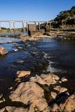 torkad flod Royaltyfri Bild