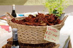 Torkad italienare tomatoes_02 Royaltyfria Foton