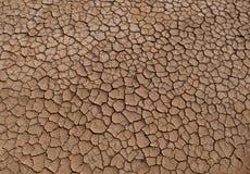 Torkad jordningstextur Royaltyfri Bild