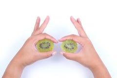 torkad kiwi Arkivfoto