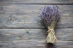 torkad lavendel Arkivbild