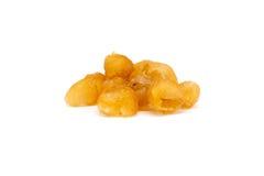 Torkad longanfrukt Arkivfoton