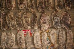 torkad meat Royaltyfria Bilder