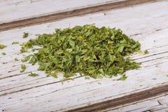torkad parsley Royaltyfri Bild