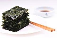 torkad seaweed Royaltyfri Bild