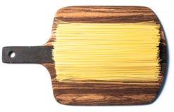 Torkad spagetti Fotografering för Bildbyråer