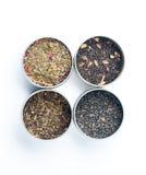 Torkad tea Fotografering för Bildbyråer