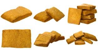 Torkad tofu Arkivbild