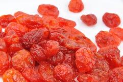 torkad white för Cherry cornelian Royaltyfria Foton