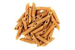 torkad wholegrain pastapenne Arkivfoton