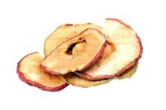 Torkade äpplechiper Arkivfoto