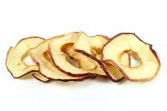 Torkade äpplecirklar 02 Fotografering för Bildbyråer