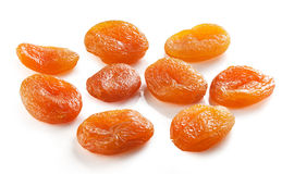 Torkade aprikosar Arkivfoton