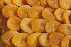 Torkade aprikosar Arkivbilder