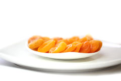 Torkade aprikosar Fotografering för Bildbyråer