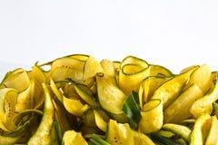 torkade bananer royaltyfria bilder