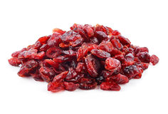 Torkade cranberries arkivbilder