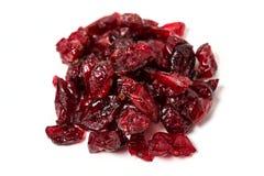 Torkade cranberries Royaltyfria Bilder