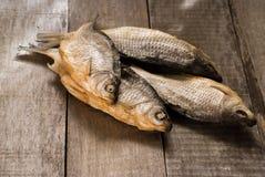 Torkade fiskar arkivfoto