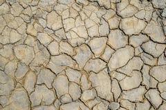 Torkade floder av gyttja från gyttjaVolcanoes Royaltyfri Foto