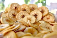 Torkade frukter, äpplen Royaltyfri Foto