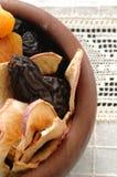 torkade frukter Royaltyfria Bilder
