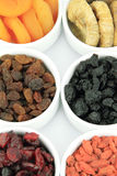 torkade frukter Fotografering för Bildbyråer