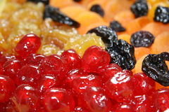 torkade frukter royaltyfria foton