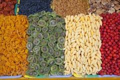 Torkade frukter av olika sorter Royaltyfri Fotografi