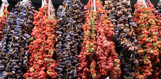 torkade grönsaker Royaltyfria Foton