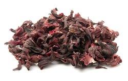 torkade hibiskuspetals