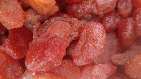 torkade jordgubbar Royaltyfri Foto