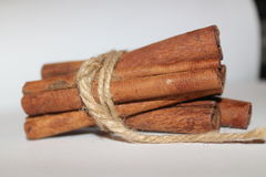 Torkade kanelbruna sticks Royaltyfri Foto