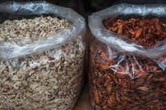 torkade kryddor Arkivfoton