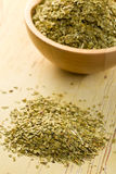 torkade leaves parar ihop tea Fotografering för Bildbyråer